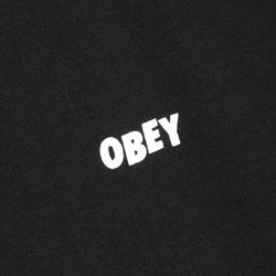 OBEY THE CREEPER LS T SHIRT BLACK