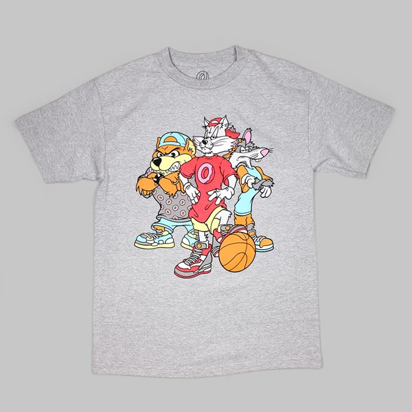 ODD FUTURE Basketball Gang TEE GREY