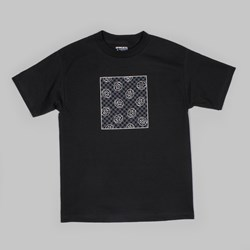 ODD FUTURE DONUT SQUARE TEE BLACK