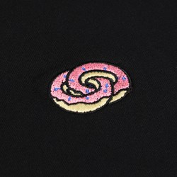 ODD FUTURE ETERNITY DONUT RINGS BLACK