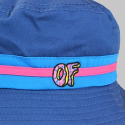 ODD FUTURE PINK BAND BUCKET HAT BLUE