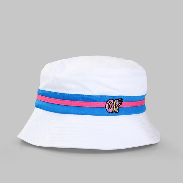 91c014fb2cd16b ... australia odd future pink band bucket hat white 8d333 90f13