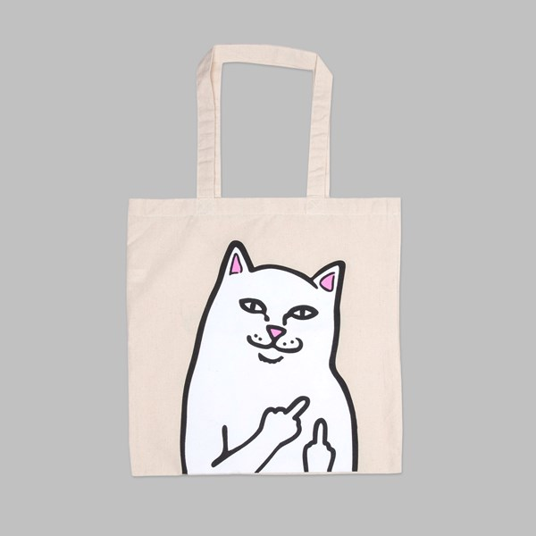 RIP N DIP OG LORD NERMAL TOTE BAG NATURAL