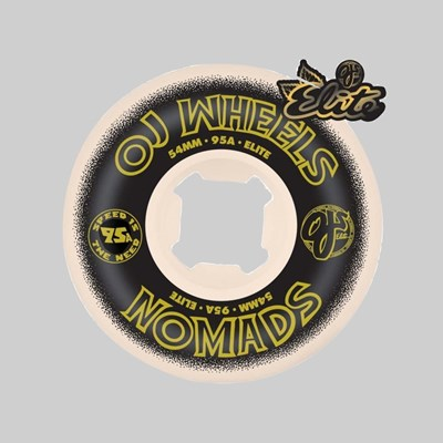OJ WHEELS ELITE WHEELS NOMADS 95A MULTI 54MM