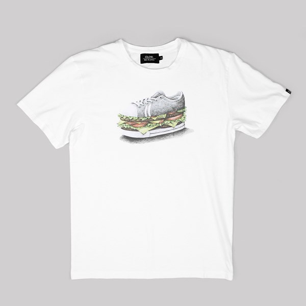 OLOW BURGER T SHIRT WHITE