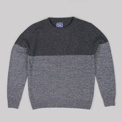 OLOW LUNAIRE CREWNECK JUMPER BI-COLOUR