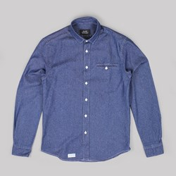 OLOW SILICA LS SHIRT DENIM