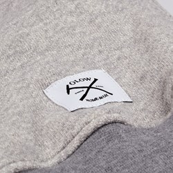 OLOW VOYOU CREW SWEAT HEATHER GREY