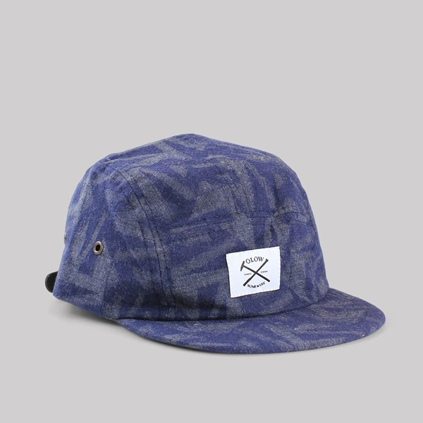 OLOW WHALE 5 PANEL CAP FLANNEL PATTERN
