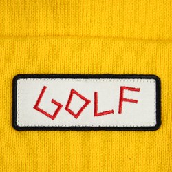 Odd Future Golf Patch Beanie Yellow