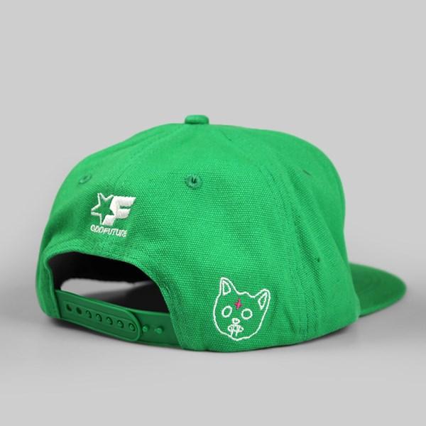 Odd Future Golf Wang Snapback Green  c7f28d2df37
