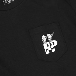 PASSPORT HAIL POCKET TEE BLACK