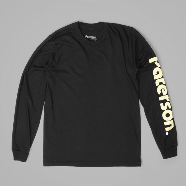 PATERSON LEAGUE ADVANTAGE LS TEE BLACK