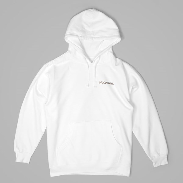 PATERSON LEAGUE BRADENTON PO HOODY WHITE
