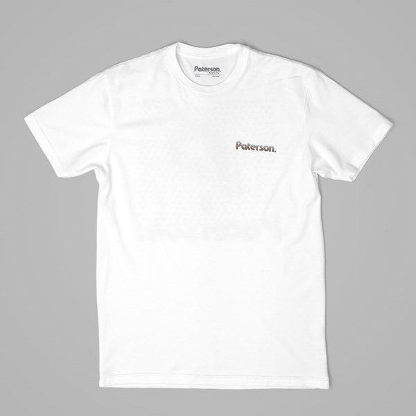 PATERSON LEAGUE BRADENTON TEE WHITE