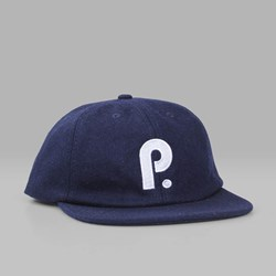 PATERSON LEAGUE BRUSHED WOOL CLUB CAP NAVY