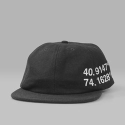 PATERSON LEAGUE CORDINATES 6PANEL CAP BLACK