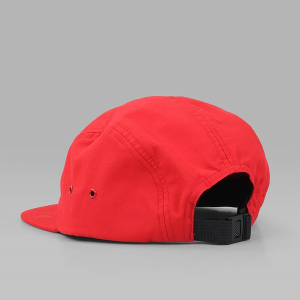 PATERSON LEAGUE ENOC 5 PANEL CAP TRUE RED