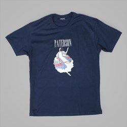 PATERSON LEAGUE FLY SS T-SHIRT NAVY