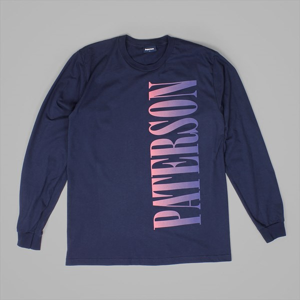 PATERSON LEAGUE NIGHTFALL KNIT LS NAVY