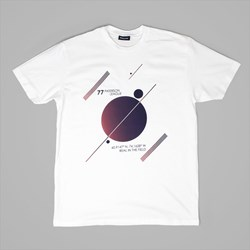 PATERSON LEAGUE SPACE T-SHIRT WHITE