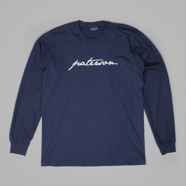 PATERSON LEAGUE TRADEMARK LS KNIT NAVY