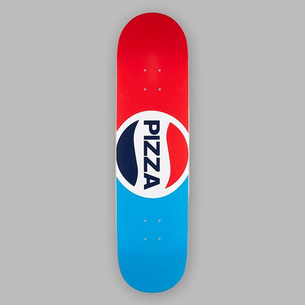 PIZZA SKATEBOARDS PEPZI TEAM DECK 8.25""