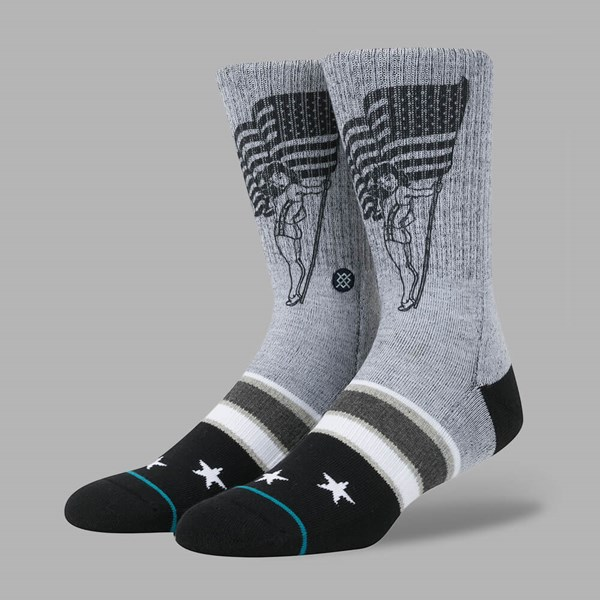 STANCE PODIUM SOCKS GREY