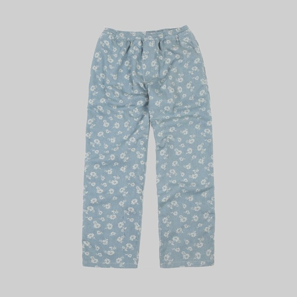 POLAR SKATE CO. DENIM SURF PANTS BLUE FLORAL