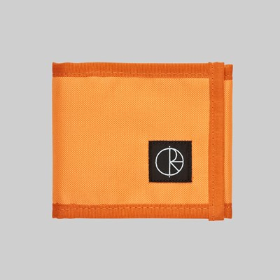 POLAR SKATE CO. CORDURA WALLET ORANGE