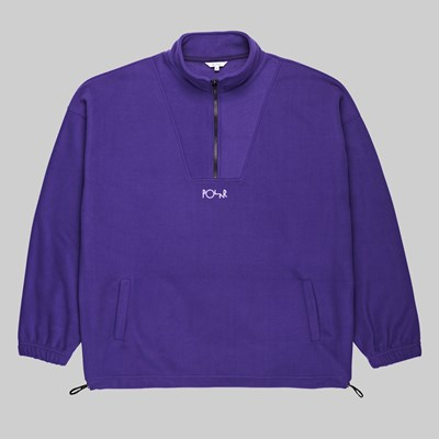 POLAR SKATE CO. LT FLEECE PULLOVER DEEP PURPLE