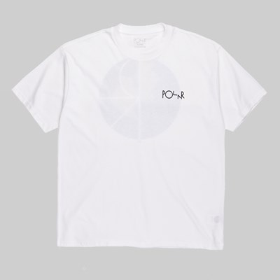 POLAR SKATE CO. TORSTEN FILL LOGO SS T-SHIRT WHITE