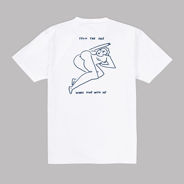 POLAR SKATE CO. EROTIC SS T-SHIRT WHITE