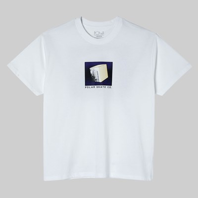 POLAR SKATE CO. ISOLATION SS T-SHIRT WHITE