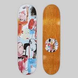 POLAR SKATE CO. PAUL GRUND 'PERSONALITY' DECK 8.25""