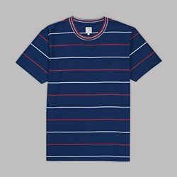 POLAR SKATE CO. ROMAN SS CREW T-SHIRT NAVY