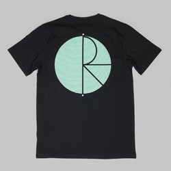 POLAR SKATE CO BEHIND THE CURTAIN TEE BLACK