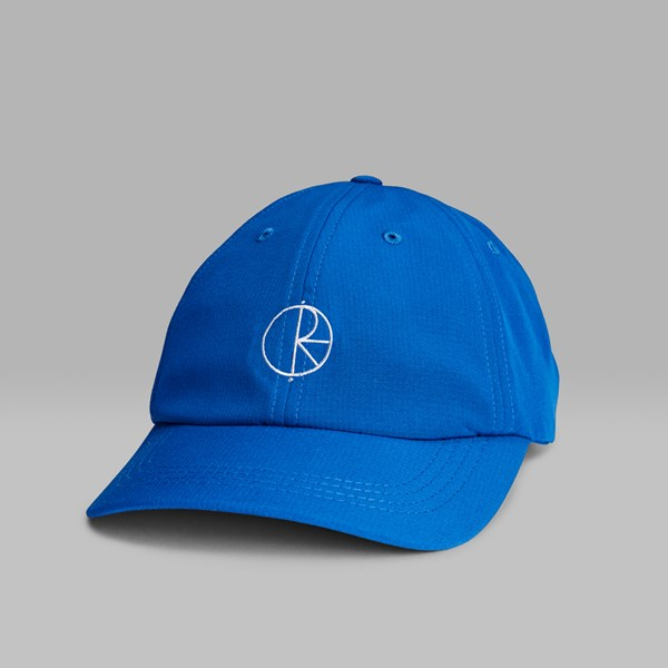 POLAR SKATE CO. CAMPER CAP 80'S BLUE