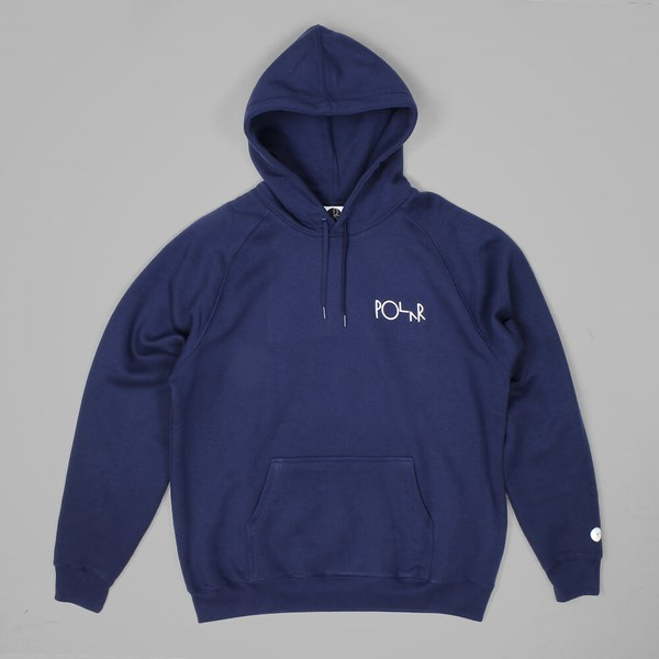 POLAR SKATE CO. DEFAULT HOOD SWEAT NAVY