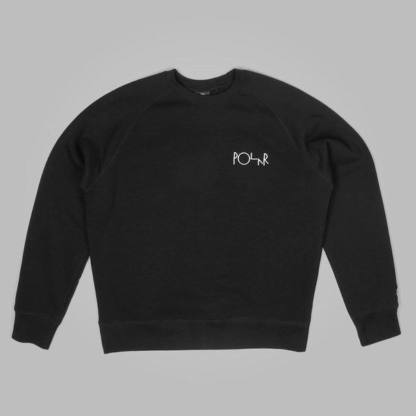 POLAR SKATE CO DEFAULT SWEATSHIRT BLACK