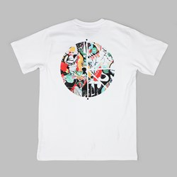 POLAR SKATE CO. EGO LOSS FILL LOGO TEE WHITE