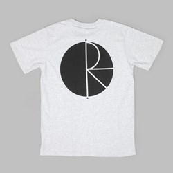 POLAR SKATE CO. FILL LOGO TEE SPORTS GREY