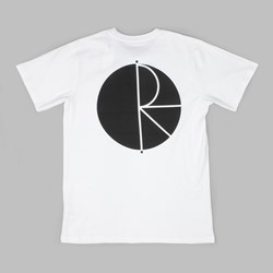 POLAR SKATE CO. FILL LOGO TEE WHITE