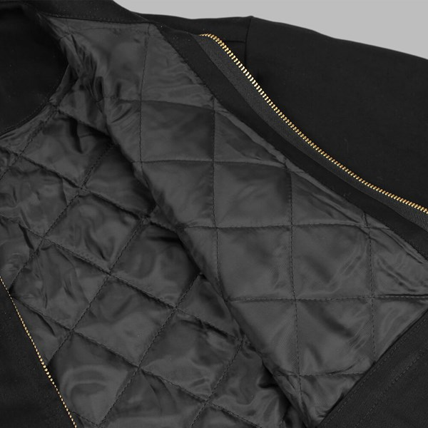POLAR SKATE CO. GROUND CREW JACKET BLACK