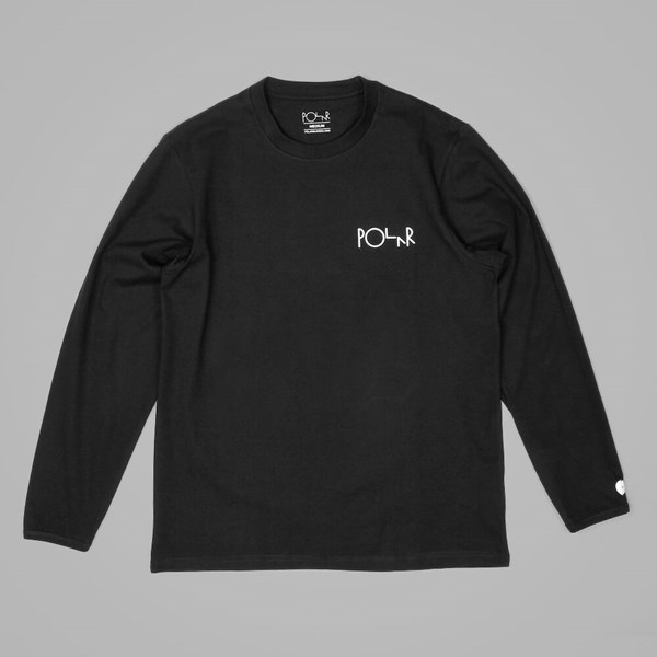 POLAR SKATE CO. HALBERG LS TEE BLACK