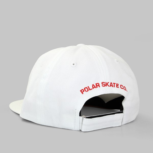 POLAR SKATE CO NO COMPLY CAP WHITE