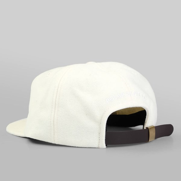 POLAR SKATE CO. P WOOL CAP WHITE