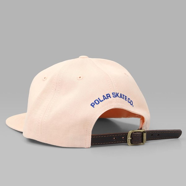 POLAR SKATE CO. PSC UNSTRUCTURED CAP PEACH