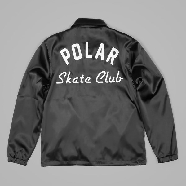 POLAR SKATE CO. SKATE CLUB JACKET BLACK