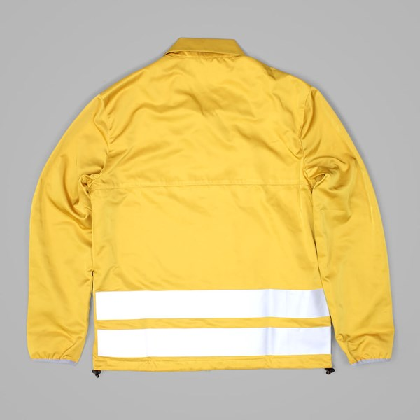POLAR SKATE CO. SKYPAGER JACKET YELLOW